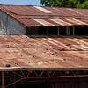 rusty tin roof
