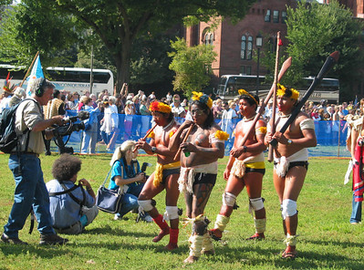 National Museum of the American Indian, Smithsonian Institution, Washington DC Grand opening, September 21, 2004 Native Nations Procession