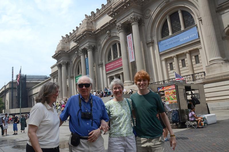 At the Metropolitan Museum of Art