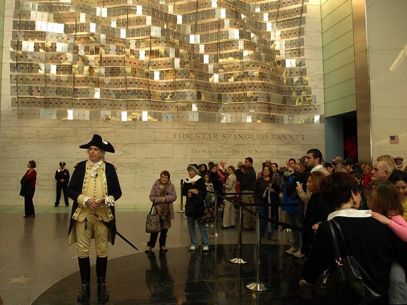 President Washington told his story.