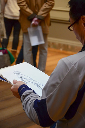 Sketching Degas