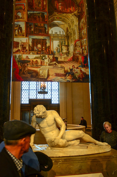 The Dying Gaul at the National Gallery of Art in Washington, DC.