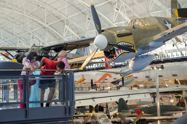 Udvar-Hazy August 2014/July 2015
