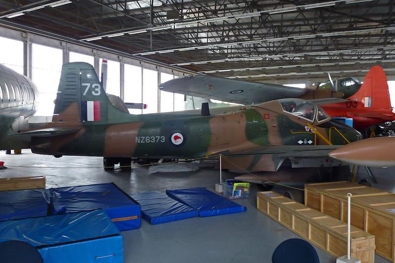"NZ6373 (73) BAC Strikemaster Mk.88 ""Royal New Zealand Air Force"" c/n PS.343 Wigram/NZWG 12-04-12"