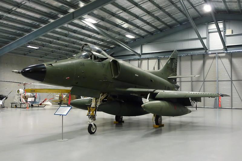 "NZ6204 Douglas A-4K Skyhawk ""Royal New Zealand Air Force"" c/n 14087 Ashburton/NZAS 11-04-12"