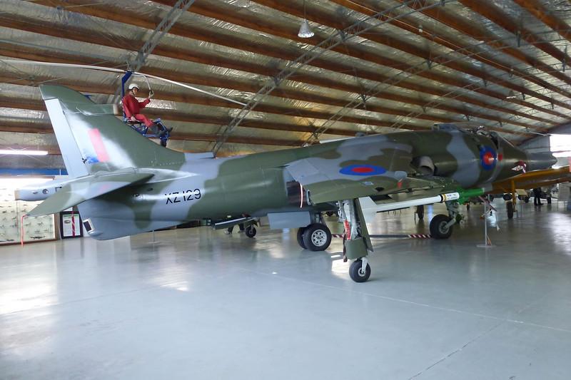 "XZ129 British Aerospace Harrier GR.3 ""Royal Air Force"" c/n 712188 Ashburton/NZAS 11-04-12"