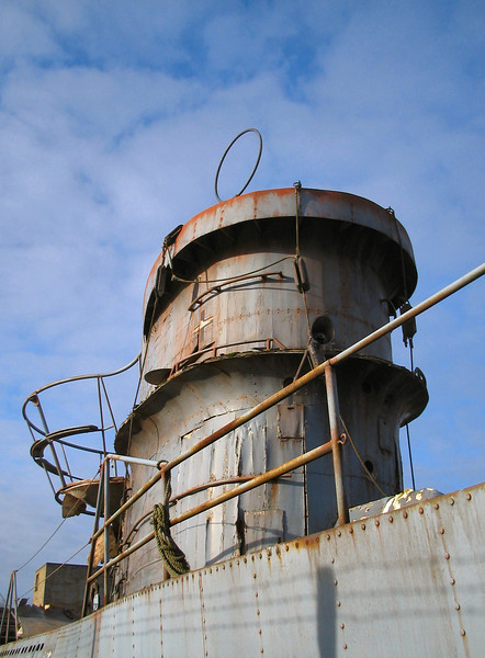 "Submarine conning tower replica used in the film <a target=""_blank"" href=""http://www.imdb.com/title/tt0157583/"">Enigma</a>."