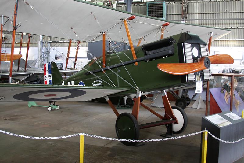 BAPC-250 (F5475/A) BAPC SE.5A Replica c/n unknown Brooklands/EGLB 09-09-10