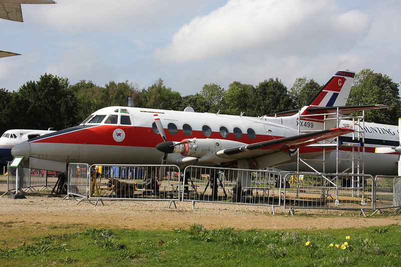 XX499 Scottish Aviation HP.137 Jetstream T.1 c/n 425 Brooklands/EGLB 09-09-10