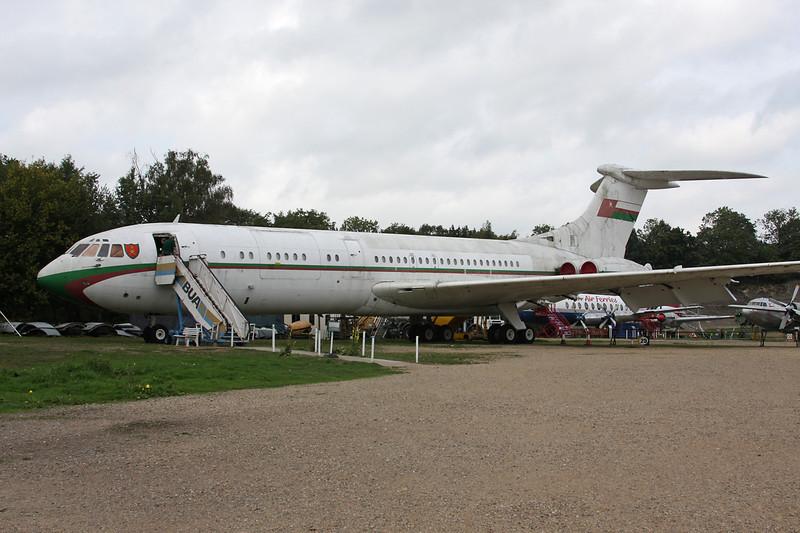 A4O-AB Vickers VC-10-1103 c/n 820 Brooklands/EGLB 09-09-10