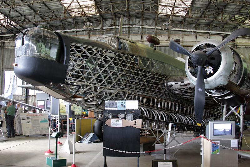 N2980 Vickers Wellington B.Ia c/n N2980 Brooklands/EGLB 09-09-10