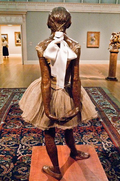 Degas Sculpture of 14 year old ballet dancer