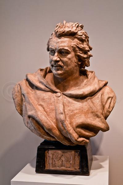 Honoré de Balzac by Pierre-Eugéne-Emile Hébert