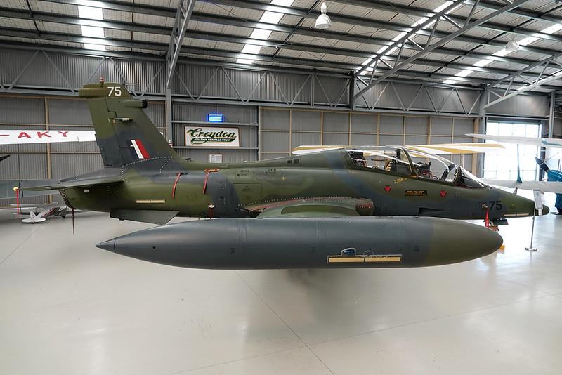 NZ6475 (75) Aermacchi MB-339CB c/n 6828 Mandeville/NZVL 04-10-19