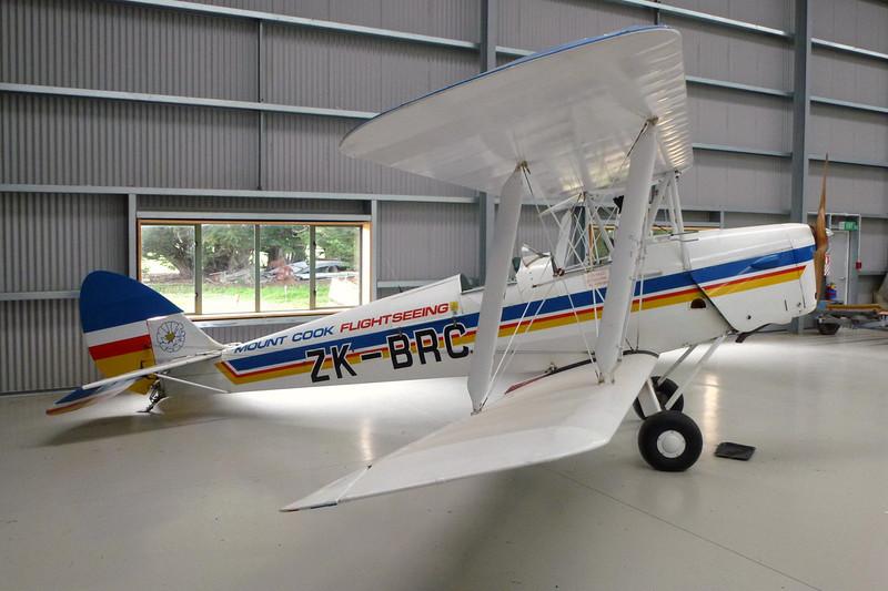 ZK-BRC de havilland DH-82A Tiger Moth c/n DHNZ115 Mandeville/NZVL 22-03-12