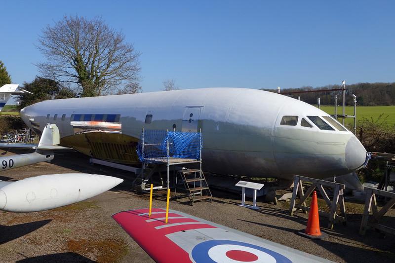 G-AOJT de Havilland DH-106 Comet 1A c/n 06020 London Colney 09-03-14