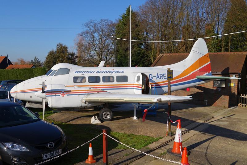G-AREA de Havilland DH-104 Dove 8 c/n 04520 London Colney 09-03-14