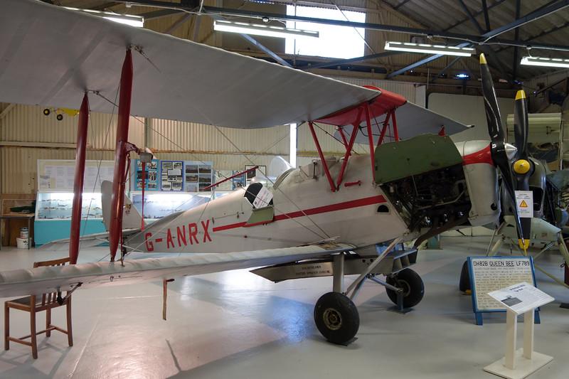G-ANRX de Havilland DH-82A Tiger Moth c/n 3863 London Colney 09-03-14