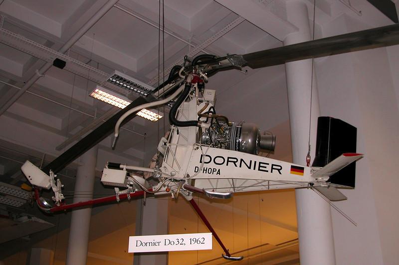 D-HOPA Dornier Do.32E c/n 32004 Deutsches Museum/Munich 12-07-05