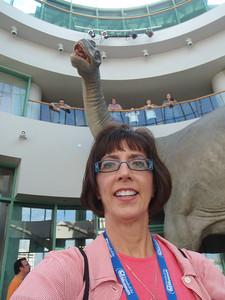 Dino/Jenny selfie!