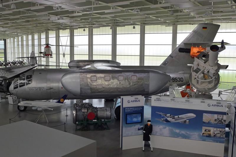D-9530 Dornier Do.31E c/n E-1 Friedrichshafen/EDNY/FDH 20-04-12