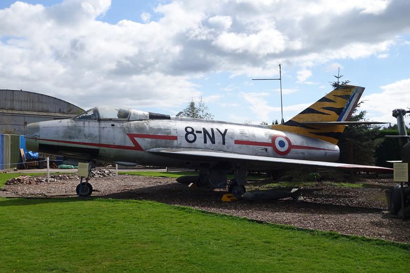 318 (8-NY) Dassault Mystere IVA c/n 318 Dumfries 31-08-14