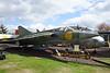 35075 SAAB Draken J35A c/n 35075 Dumfries 31-08-14