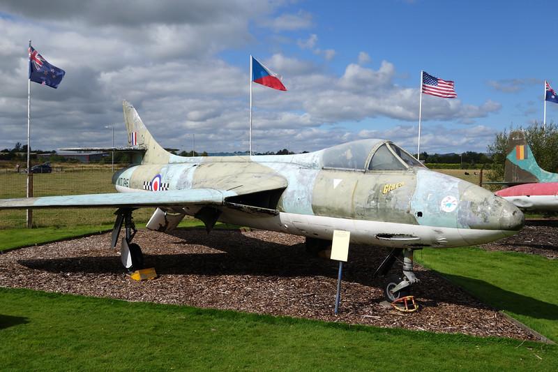 "WT746 Hawker Hunter F.4 ""Royal Air Force"" c/n 41H/670703 Dumfries 31-08-14"