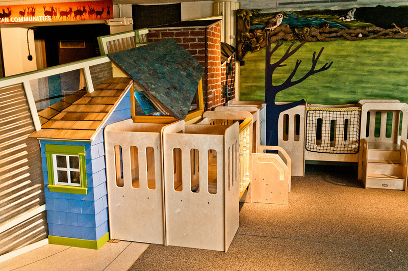 EcoTarium Urbanscape Preschool Exhibit