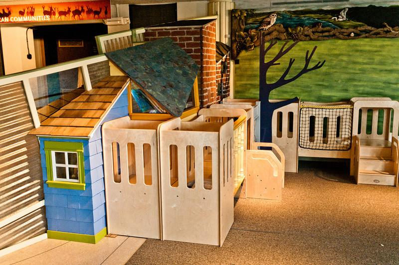 EcoTarium Urbanscape Preschool Exhibit
