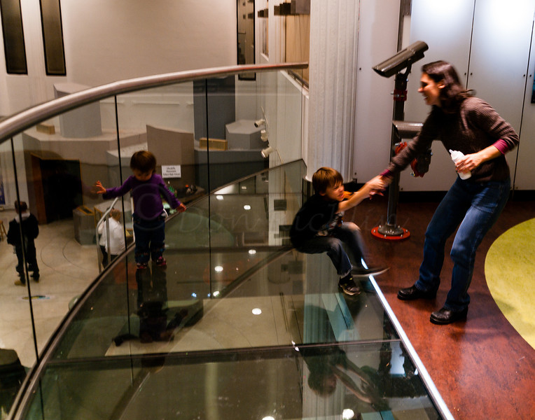 Scared of the Prow glass floor.