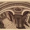 Inside St Peter's, 1935 (wood engraving)