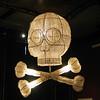 Skull and crossbones Chandelier