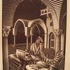 Dream (Mantis Religiosa), 1935 (wood engraving)