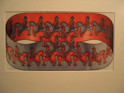 Horseman, 1946 (woodcut)