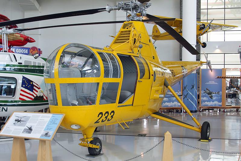 N65760 (233) Sikorsky HO3S-1G Dragonfly c/n 51-05 McMinnville/KMMV/MMV 09-05-09