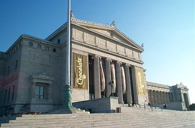 Field Museum entrance