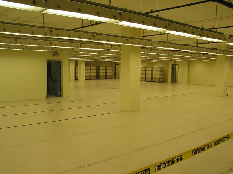 Spark proof room (2nd basement)