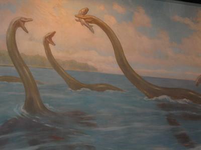Dinosaurs painting