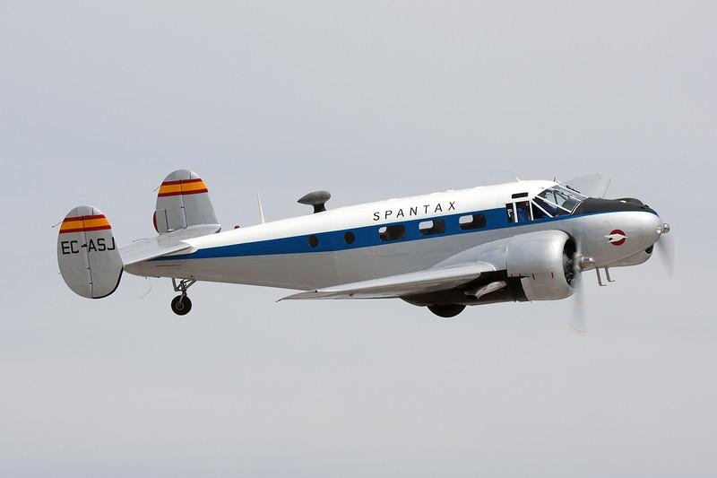 EC-ASJ Beech C-45H Expeditor c/n AF-752 Cuatro Vientos/LECU 06-04-08