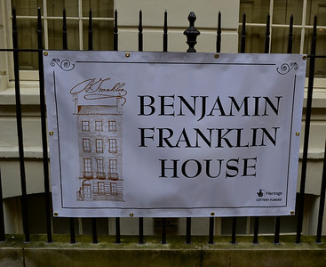 London's Benjamin Franklin House & Vicinity