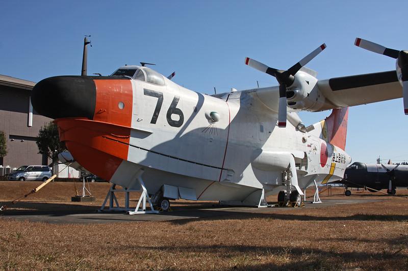 "9076 (76) Shin Meiwa US-1 ""JMSDF"" c/n 2006 Kanoya/RJFY 16-01-14"