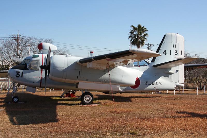 "4131 (31) Grumman S-2 F-1 Tracker ""JMSDF"" c/n 631 Kanoya/RJFY 16-01-14"