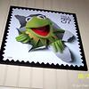 """June 20, 2007<br /> <br /> The official """"Kermit the Frog"""" Postal Stamp<br /> """"THE JIM HENSON DELTA BOYHOOD EXHIBIT"""" 2007 <br /> Leland, MS"""