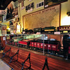 Lomita Railway Museum : The Lomita Railroad Museum was the first of its kind west of Denver, Colorado. It was made possible through the generosity of Mrs. Irene Lewis who donated the Museum to the City of Lomita in honor of her late husband, Martin Lewis, in 1967. It was a rather natural thing for Mrs. Lewis to do since she had been a dedicated railroader and spent many years building Little Engines, a business devoted entirely to developing and manufacturing miniature steam operated locomotives which were sold all over the world. The museum proudly displays some of these locomotives. The Museum was built in 1966. Much research and study was given to depot structures before the final home the Museum was chosen. ( http://lomita-rr.org/Information.htm )