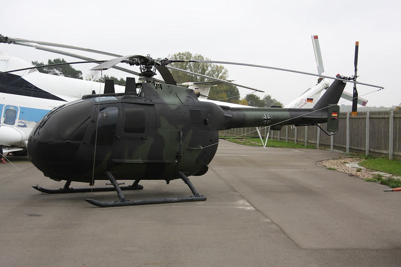 """98+20 Bolkow Bo-105C """"German Air Force"""" c/n S-90 Berlin-Gatow/EDBG/GWW 21-10-09"""