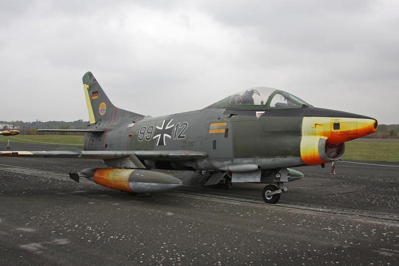 """99+12 Fiat G-91R/3 """"German Air Force"""" c/n 554 Berlin-Gatow/EDBG/GWW 21-10-09"""