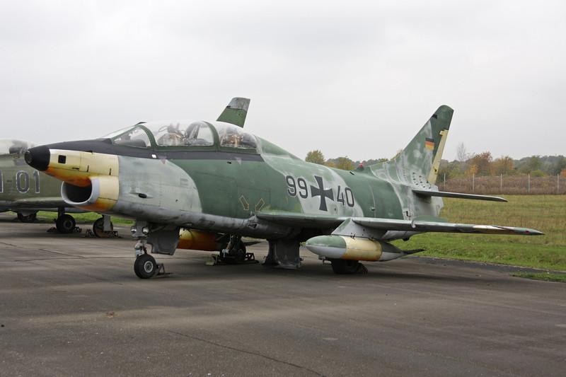 """99+40 Fiat G-91T/3 """"German Air Force"""" c/n 0621 Berlin-Gatow/EDBG/GWW 21-10-09"""