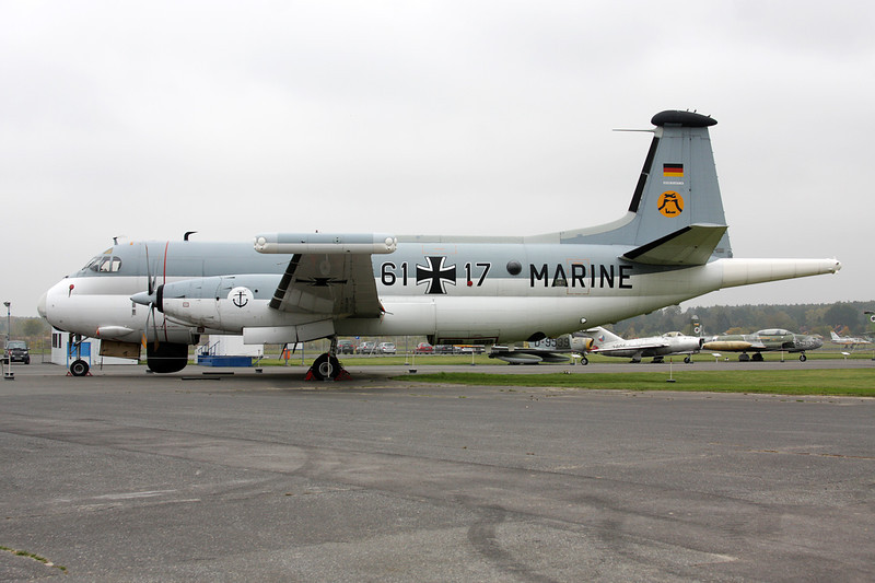 "61+17 Breguet 1150 Atlantic ""German Navy"" c/n 34 Berlin-Gatow/EDBG/GWW 21-10-09"