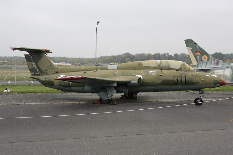 """311 Aero Vodochody L-29 Delfin """"East German Air Force"""" c/n 692053 Berlin-Gatow/EDBG/GWW 21-10-09"""